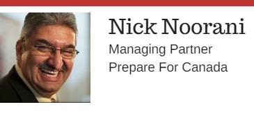 Nick Noorani - Managing Partner Prepare For Canada