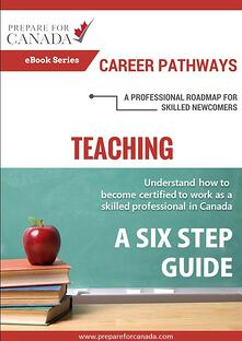 Career Pathways Teaching In Canada ebook