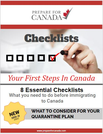 immigrating-to-canada-checklists-with-qurantine-plan