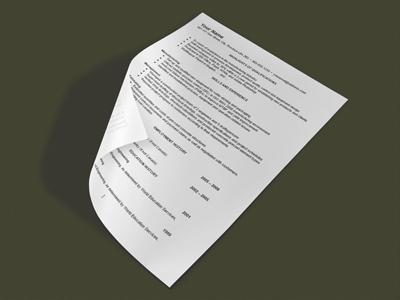 Custom resume writing in canada